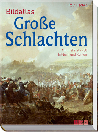 """Cover des Buches """"Bildatlas Große Schlachten"""""""